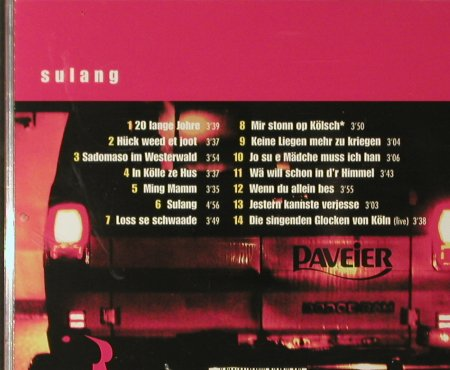 Paveier: Sulang, Pavement(), D, 2002 - CD - 66123 - 10,00 Euro