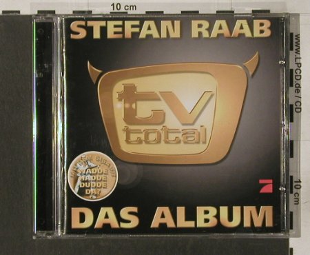 Raab,Stefan: TV Total-Das Album, Rare(), D, 00 - CD - 67317 - 7,50 Euro