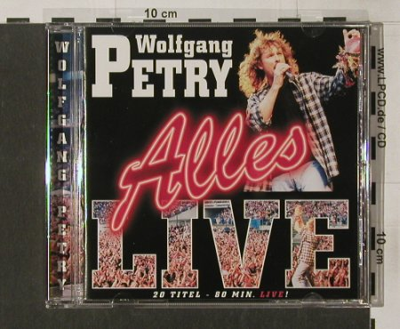 Petry,Wolfgang: Alles Live, BMG(), D, 99 - CD - 68763 - 10,00 Euro