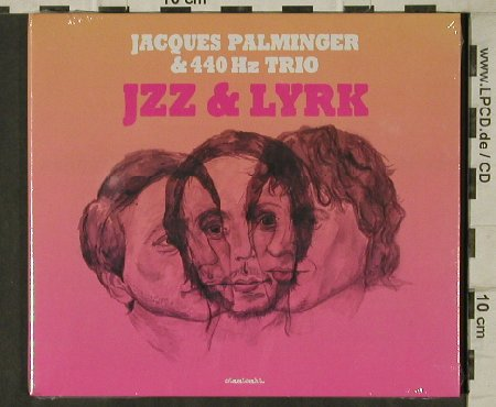 Palminger,Jacques & 440 Hz Trio: Jzz & Lyrk, Digi, FS-New, Rough Trade/Staatsakt(7312), , 2012 - CD - 81342 - 7,50 Euro