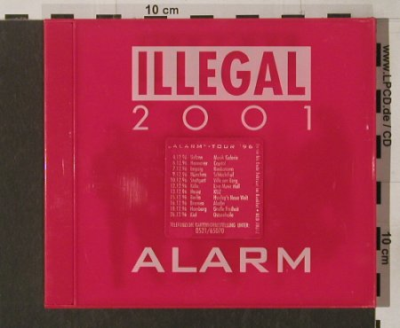 Illegal 2001: Alarm ( original red Jewel), MCA(), EEC, 96 - CD - 90338 - 11,50 Euro