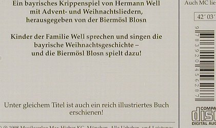 Biermösl Blosn - Hermann Well: Grüaß di Gott Christkindl, FS-New, Hieber(MH 2109), , 98 - CD - 90564 - 7,50 Euro