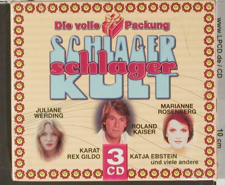 V.A.Schlager Kult: Die volle Packung,Box,  FS-New, (), EU, 2001 - 3CD - 90834 - 9,00 Euro