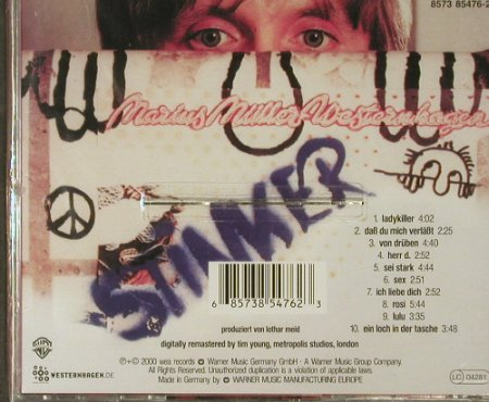 Westernhagen: Stinker, remastered, FS-New, WB(8573 85476-2), D, 2000 - CD - 94041 - 10,00 Euro