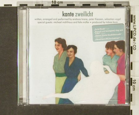 Kante: Zweilicht, kitty-yo(), D, 2001 - CD - 94256 - 11,50 Euro