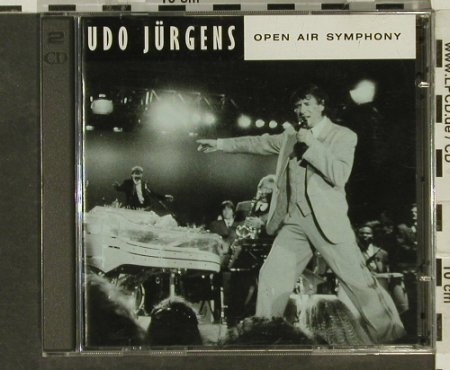 Jürgens,Udo: Open Air Symphony, BMG(), EEC, 1992 - 2CD - 94479 - 11,50 Euro