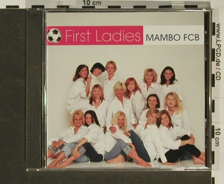 First Ladies: Mambo FCB, 3 Tr., Virgin(), EU, 00 - CD5inch - 96887 - 4,00 Euro