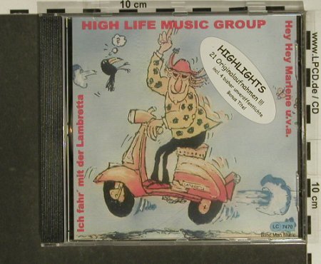 High Life Music Group: Highlights,21Originalaufnahmen, Blind Man Music(08339-B26), D, 2006 - CD - 97439 - 5,00 Euro