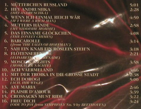 Rebroff,Iwan: Best of, 16 Tr., FS-New/vg+, DA music(77286), D,  - CD - 99718 - 5,00 Euro