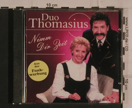 Duo Thomasius: Nimm dir Zeit, da music(), D, 1999 - CD - 99837 - 5,00 Euro