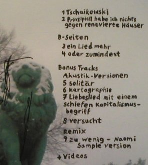 Le Mobile: Tschaikowski, Sitzer-Records(SR 026), D, 2007 - CD - 99859 - 10,00 Euro
