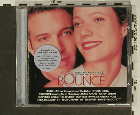 Bounce: Music From & Inspired Of, Miramax(), EU, 2000 - CD - 50078 - 4,00 Euro