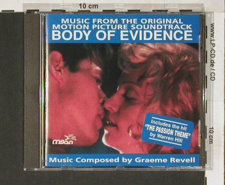 Body of Evidence: comp. By Graeme Revell, Milan(), CH, 93 - CD - 50099 - 7,50 Euro