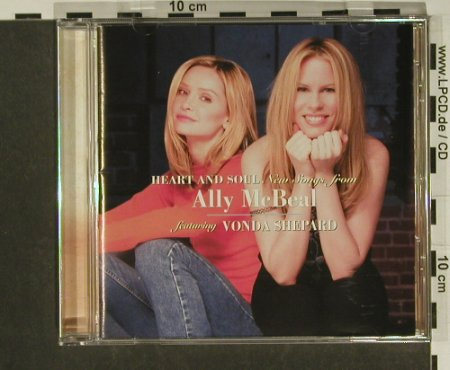 Ally McBeal - Heart And Soul: 14 Tr., Epic(), A, 1998 - CD - 50145 - 7,50 Euro