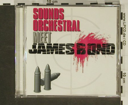 Sounds Orchestral: meet James Bond, 12 Tr., Sequel(), UK, 96 - CD - 50148 - 4,00 Euro