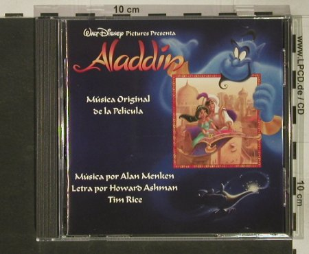 Aladdin: Musica Original de la Pelicula, co, Disney(67846-7), US,span., 1992 - CD - 50162 - 7,50 Euro
