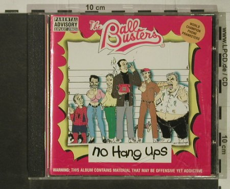 Ballbusters: No Hang Ups, Edel(), D, 1995 - CD - 50268 - 5,00 Euro