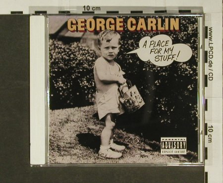 Carlin,George: A Place for my Stuff !'81, Atlantic(), US, 01 - CD - 50413 - 5,00 Euro