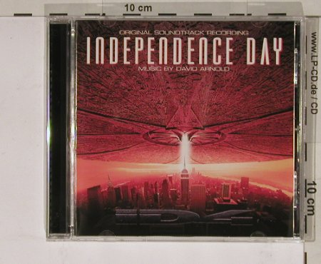 Independence Day: Original Soundtrack by D.Arnold, RCA(), EU, 96 - CD - 50542 - 10,00 Euro