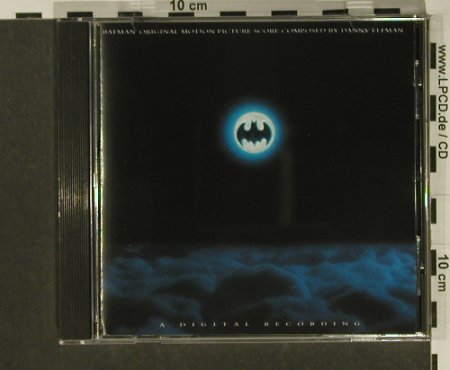 Batman: Motion Picture Score by Dany Elfman, WB(), D, 1989 - CD - 50566 - 7,50 Euro