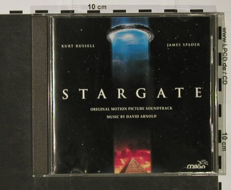 Stargate: Soundtrack by David Arnold, Milan(), F, 1994 - CD - 50578 - 7,50 Euro