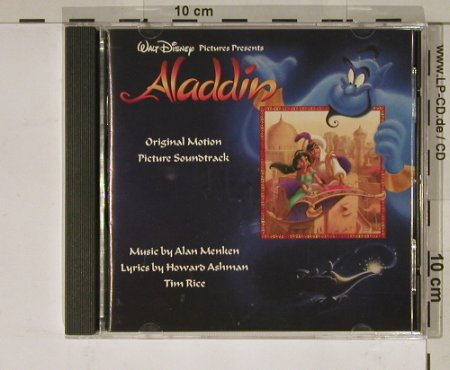 Aladdin: Music by Alan Menken, 21 Tr., Disney(), US, 92 - CD - 50853 - 10,00 Euro