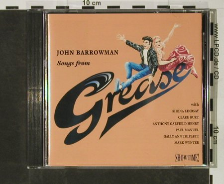 Grease: Songs from , John Barrowman, Showtime(), , 1994 - CD - 50857 - 4,00 Euro