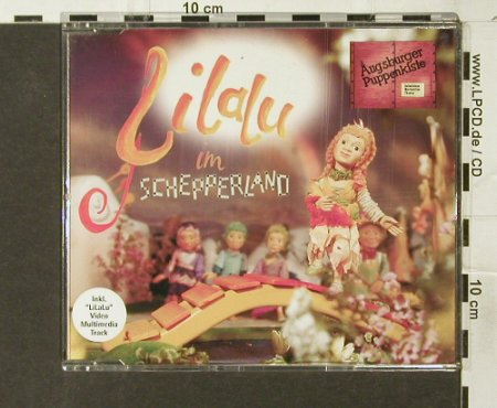 Augsburger Puppenkiste: LiLaLu im Schepperland*4+Video, Virgin(), D, 2000 - CD5inch - 50940 - 2,50 Euro