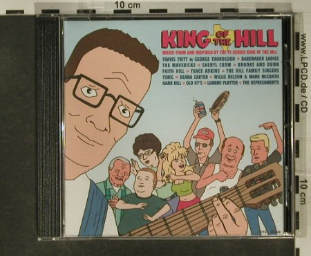 King of The Hill: TV-Serie V.A.15 Tr, Elektra(), D, 99 - CD - 51073 - 4,00 Euro