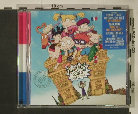 Rugrats in Paris: 14 Tr. V.A., Maverick(), EEC, 2000 - CD - 51186 - 2,50 Euro