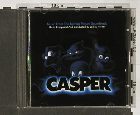 Casper: M.comp+cond.by James Horner, MCA(), EC, 95 - CD - 51500 - 7,50 Euro