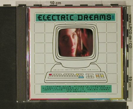 Electric Dreams: Original Soundtrack, ua G.Moroder, Virgin(), D, 1984 - CD - 51528 - 5,00 Euro