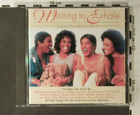Waiting To Exhale: Original Soundtrack, Arista(), EC, 95 - CD - 51544 - 4,00 Euro