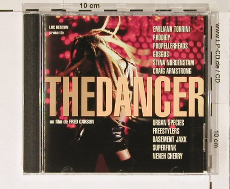 The Dancer: 11 Tr. V.A., un Film de Fred Garson, Virgin(), F, 00 - CD - 51979 - 7,50 Euro