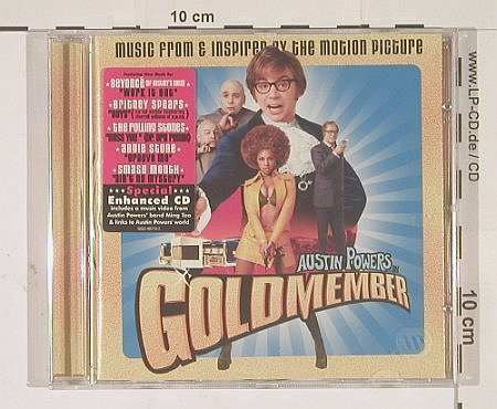 Austin Powers in Goldmember: 12 Tr. V.A., Maverick(), D, 02 - CD - 52018 - 7,50 Euro