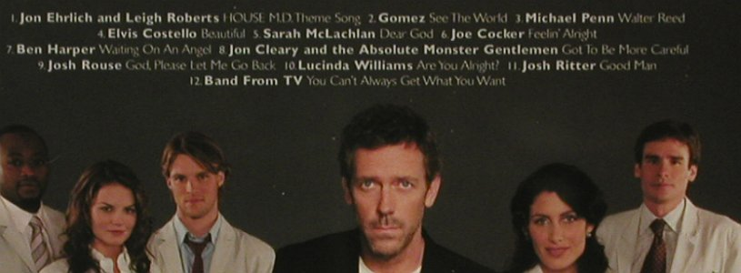 Dr.House: Orignal Television Soundtrack, Nettwerk(), , 2007 - CD - 52044 - 7,50 Euro