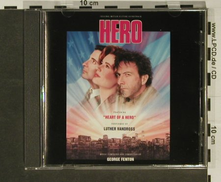 Hero: 19 Tr. By George Fenton, Epic(), A, 92 - CD - 52103 - 5,00 Euro