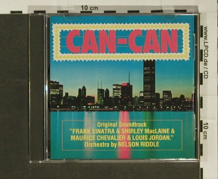 Can-Can: 12 Tr. V.A.,Sinatra,..L.Jordan, World Music(WM88009), D, 88 - CD - 52310 - 4,00 Euro