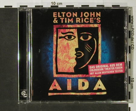 Aida / Elton John&Tim Rice: Das Original a.d.Colosseum Th.Essen, BMG(), D, 2004 - CD - 52471 - 7,50 Euro