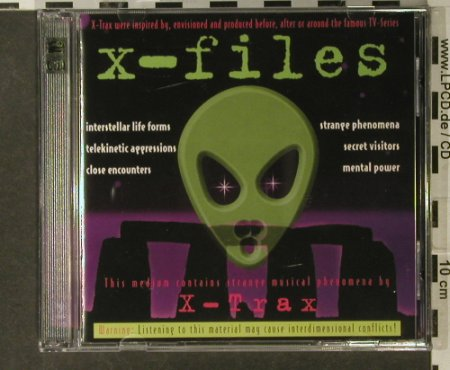 X-Files: X-Trax, Pastels(201887-304), D,  - 2CD - 52516 - 5,00 Euro