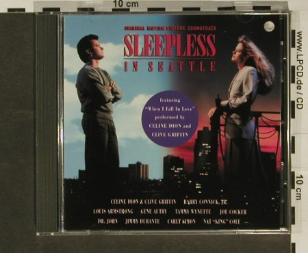 Sleepless in Seattle: 12 Tr. OST, Sony(), A, 93 - CD - 52594 - 5,00 Euro