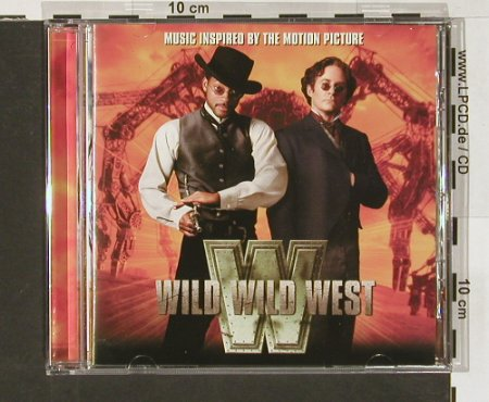 Wild Wild West: V.A.15 Tr., Intersc.(), EEC, 99 - CD - 52641 - 7,50 Euro