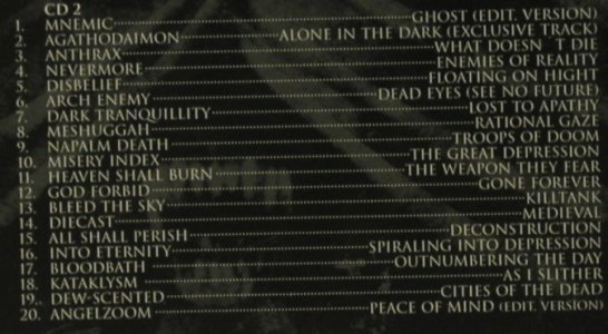Alone In The Dark: Music From, co, Nuclear Blast(), D, 2005 - 2CD - 52643 - 7,50 Euro