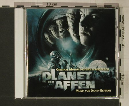 Planet Der Affen: Original Soundtr.by D.Elfman, Sony(), EU, 2001 - CD - 52971 - 7,50 Euro