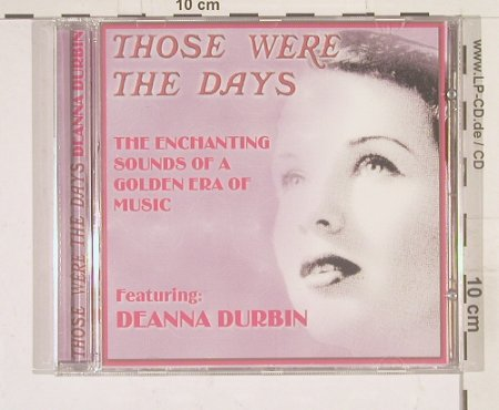 Durbin,Deanna: Those Were the Days, Javelin(), D, 01 - CD - 52976 - 5,00 Euro