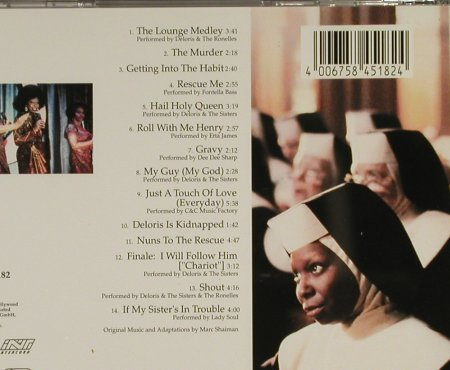 Sister Act: Music From, Hollywood(), D, 1992 - CD - 53080 - 7,50 Euro