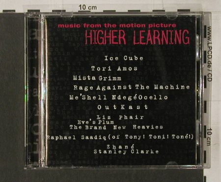 Higher Learning: V.A.15Tr., Epic(), A, 94 - CD - 53242 - 5,00 Euro