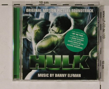 Hulk: Original Soundtrack, Decca(), EU, 03 - CD - 53315 - 10,00 Euro