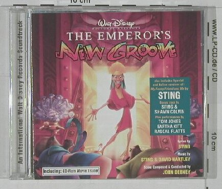 Emperor's New Groove: Original Soundtrack, 14Tr., Disney(), D, 00 - CD - 53422 - 5,00 Euro