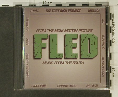 Fled: Original Soundtrack Album, Arista(), EC, 1996 - CD - 53543 - 5,00 Euro